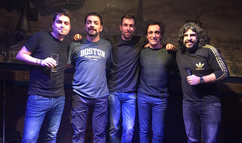 COMIKAZES - BEER STATION - JUAN SOLO - ALEX CLAVERO - JAVI GONZALEZ - JESUS MANZANO - JJ VAQUERO