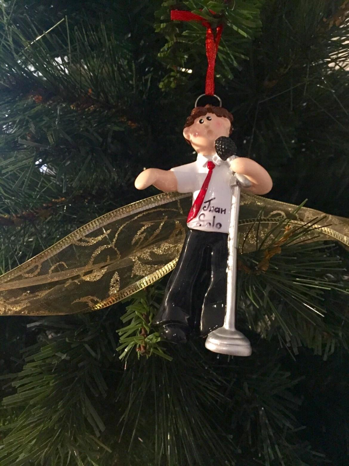 Muñeco Juan Solo - Feliz Navidad
