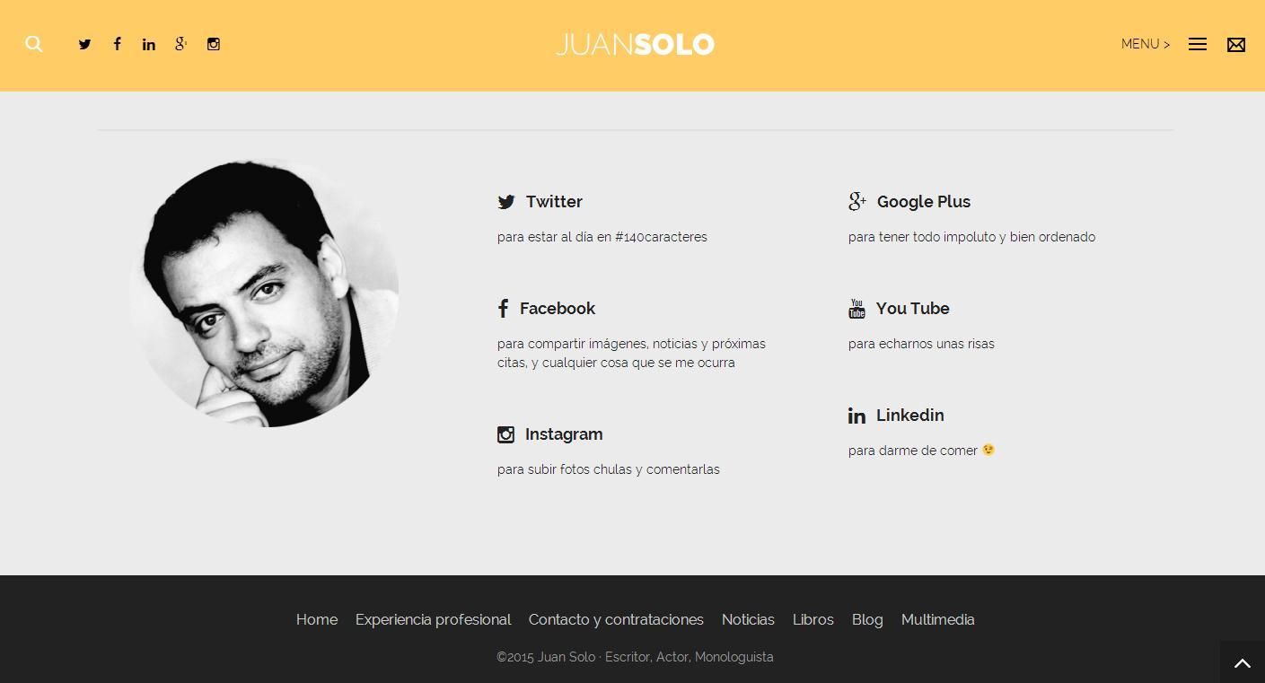 """El nuevo Juan Solo """"digitalizado"""""""
