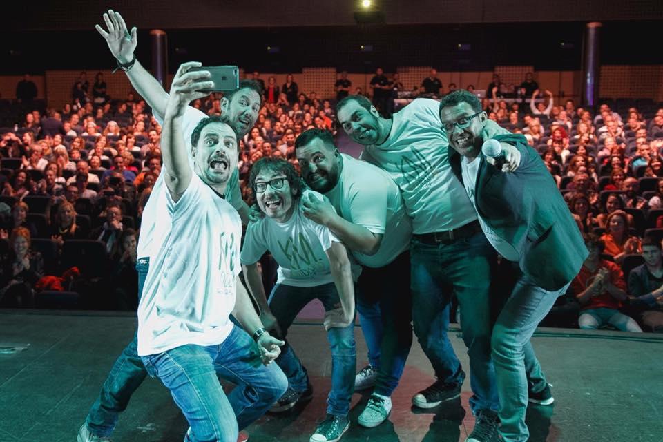 """Gala Solidaria """"Échate una risa"""" - KM Solidario - AECC - Tenerife - Juan Solo - Iñaki Urrutia - Danny Boy - Juan Antonio Cabrera - Aarón Gómez y Kike Pérez"""