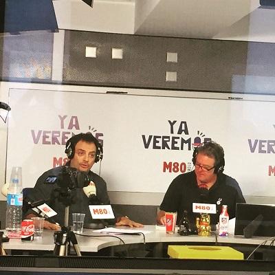 Juan Luis Cano con Una muerte improvisada en Ya veremos de M80 - Una muerte improvisada - Ya veremos - M80 - M80 Ya veremos - Juan Luis Cano - Juan Solo - Novela negra - Cloverdale - Vaughan Libros - Vaughan