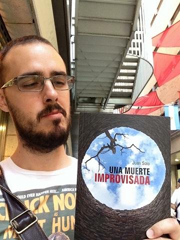 Diego Arjona - Una muerte improvisada - Una muerte improvisada - Novela negra - Juan Solo - Juan Solo escritor