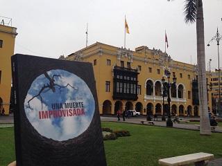 Una muerte improvisada en Lima - Perú - Juan Solo - Novela negra - Vaughan Libros - Cloverdale