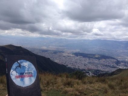 Una muerte imrpvisada en Ecuador - Volcán de Pichincha - Una muerte improvisada en Valencia - Vaughan - Novela negra - Juan Solo - #JuanSolo - juansolo.es