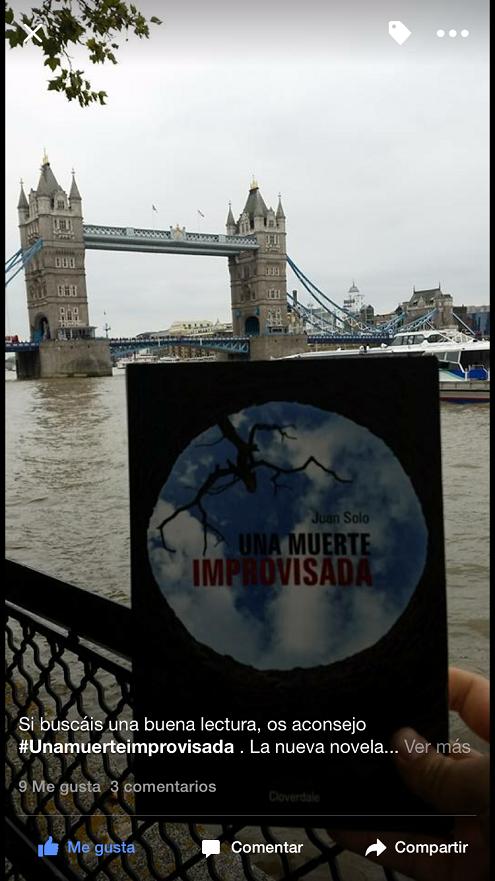 Una muerte improvisada en Londres - Londres - Reino Unido - Una muerte improvisada - Juan Solo - Juansolo.es - #JuanSolo - Novela Negra - Vaughan - Vaugah Libros - Vaughan Tienda