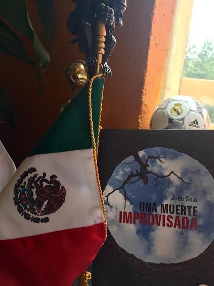 Una muerte improvisada en México - Real Madrid - Una muerte improvisada - Juan Solo - Juansolo.es - #JuanSolo - Novela Negra - Vaughan - Vaugah Libros - Vaughan Tienda