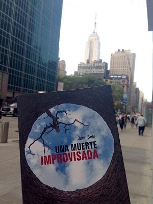 Una muerte improvisada en Nueva York - NY - Una muerte improvisada en Valencia - Vaughan - Novela negra - Juan Solo - #JuanSolo - juansolo.es