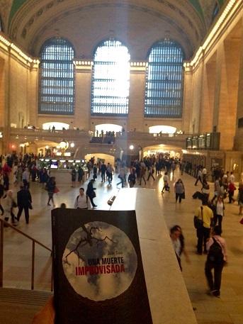 Una muerte improvisada en Nueva York - NY - Gran Central - Una muerte improvisada - Vaughan - Novela negra - Juan Solo - #JuanSolo - juansolo.es