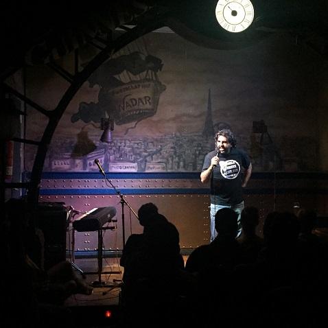 El retorno de los Comikazes - Primera actuación de la 2ª temporada con dos artistas invitados - Ángel Martín y Carolina Noriega - Iñaki Urrutia - Flipy - Juan Solo - Don Mauro - JJ Vaquero - Monólogos - Monologuistas - Beer Staion - Beer Station Madrid - Comikazes