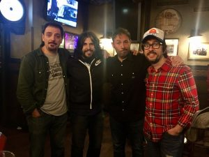 Comikazes - JJ Vaquero, Flipy, Don Mauro, Alfredo Díaz, Iñaki Urrutia y Juan Solo - en Beer Station