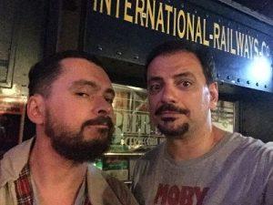De nuevo Pepón Fuentes y Juan Solo, reunidos en Comikazes depués de Solo ante el peligro en Paramount Comedy - Actuación de los Comikazes en Beer Station