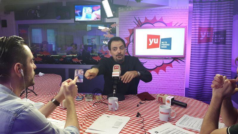 Juan Solo es ÓScar Antares en YU: de Vodafone - Los 40 Principales