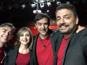 Juan Solo en Corta el cable rojo sustituyendo a Salomón Cómico que descansó - Llenazo en el Teatro Príncipe Gran Vía