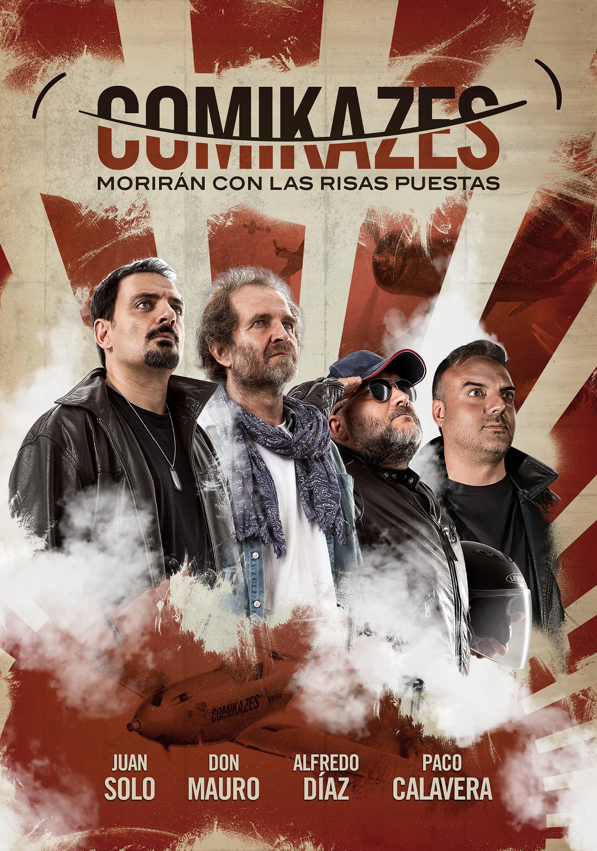 La Gira de los Comikazes - Morirán con las risas puestas - Comikazes - Juan Solo - Don Mauro - Alfredo Díaz - Paco Calavera