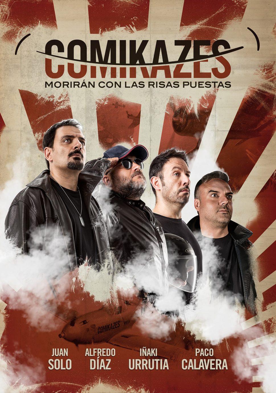 La Gira de los Comikazes - Morirán con las risas puestas - Comikazes - Juan Solo - Iñaki Urrutia - Alfredo Díaz - Paco Calavera - Albacete - Auditorio de Albacete - Banzai