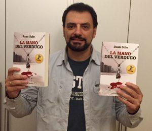 JUAN SOLO - SEGUNDA EDICION DE LA MANO DEL VERDUGO - CLOVERDALE - VAUGHAN LIBROS JUAN SOLO ESCRITOR