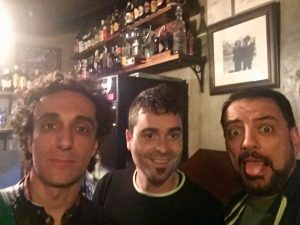 Comikazes con Álex Claver - Jesús F Manzano - Iñaki Urrutia y Juan Solo en Beer Station Madrid