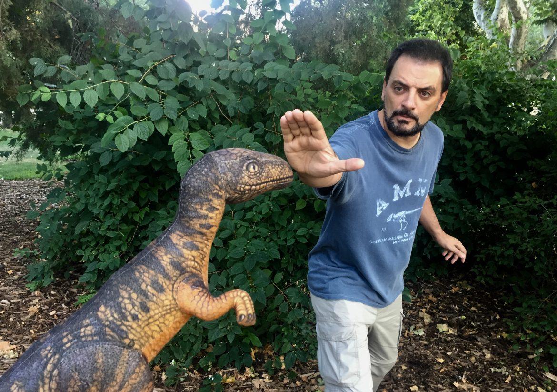 Juan Solo explica Jurassic World: El reino caído con dinosaurios y sin spoilers - Juan Solo - Congreso de los Diputados - Han Solo