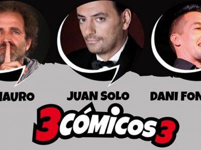 3 cómicos 3