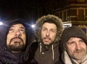 Álex Clavero con los Comikazes en Beer Station - Álex Clavero - Juan Solo - Don Mauro - Iñaki Urrutia - Comikazes