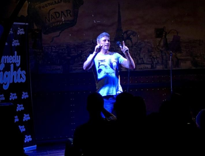 Juan Aroca con los Comikazes - Beer Station - Cuarta temporada de Comikazes