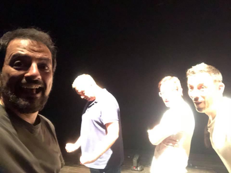 Cuarta temporada de Comikazes - Comikazes - Actuación en Almería - Juan Solo - David Navarro - Paco Calavera - Iñaki Urrutia