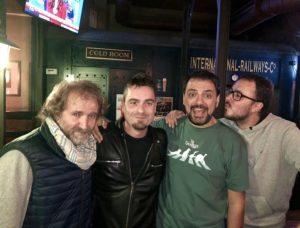 Cuarta temporada de Comikazes - Comikazes - Juan Solo - Don Mauro - Álex Clavero - Diego Arjona - Beer Station