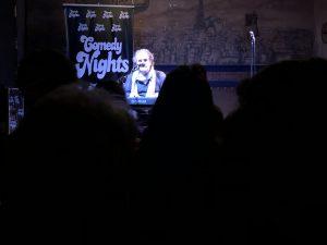 Comikazes en Beer Station - Don Mauro al piano - Juan Solo - Iñaki Urrutia - Comikazes acompañados por Tappy y Javi González