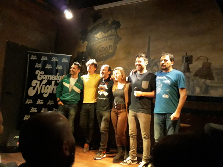 Comikazes - Karim - Luis Álvaro - David César - Bianca Kovacs - Iñaki Urrutia - Juan Solo - Beer Station
