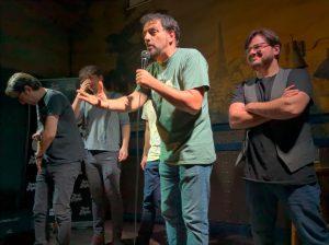 Comikazes - Juan Solo con Tappy - David Navarro, Raúl Massana, y Tappy en Beer Station