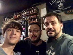 Luis Álvaro y Jorge el alma del Beer Station - Juan Solo - Comikazes