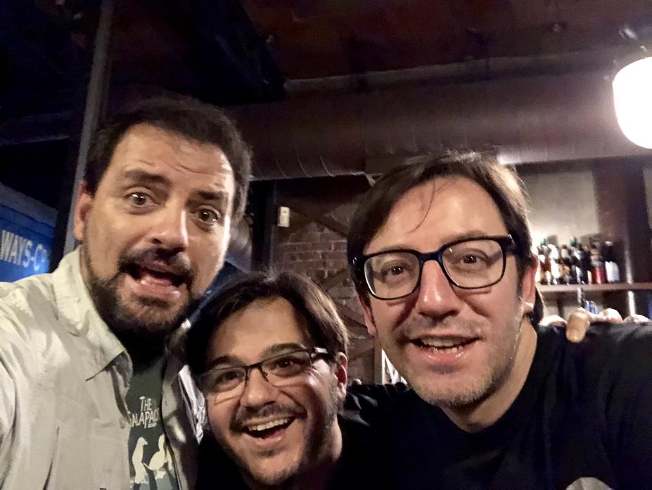 Juan Solo con la conexión andaluza: Tappy y David Navarro con los Comikazes en Beer Station
