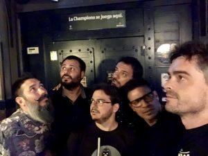 Comikazes - Chuly Paniagua - Nicolás Biffi - Tappy - Maravilla Martínez - Luis Álvaro - Alex Clavero - Juan Solo - Beer Station