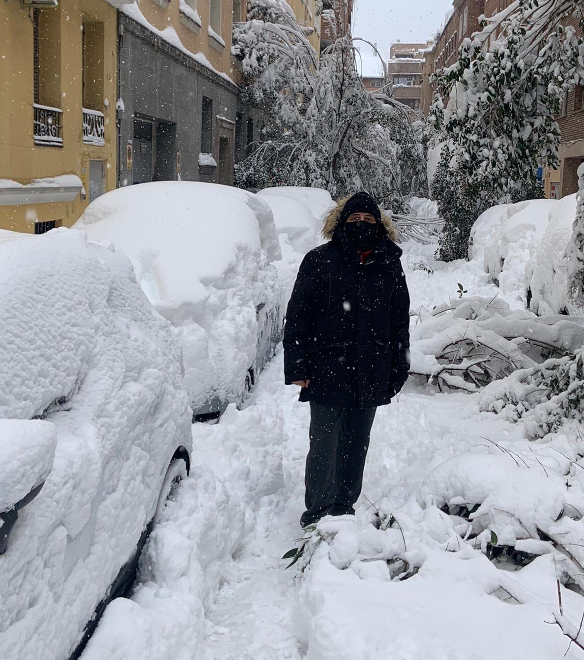Menuda nevada en Madrid - Juan Solo - Cadena COPE - La Tarde - Star Wars - El hombre que sabía demasiado poco