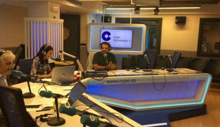 """Juan Solo es """"El hombre que sabía demasiado poco"""" en La tarde de COPE"""