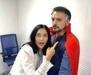Juan Solo es El hombre que sabía demasiado poco en La Tarde de COPE de la Cadena COPE con Fernando de Haro y Pilar Cisneros con el Doctor Strange