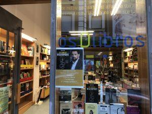 Torrelavega o… sentirte como en casa – Presentación de La cabeza de la serpiente en Torrelavega – Librería Dlibros – Juan Solo – Novela negra