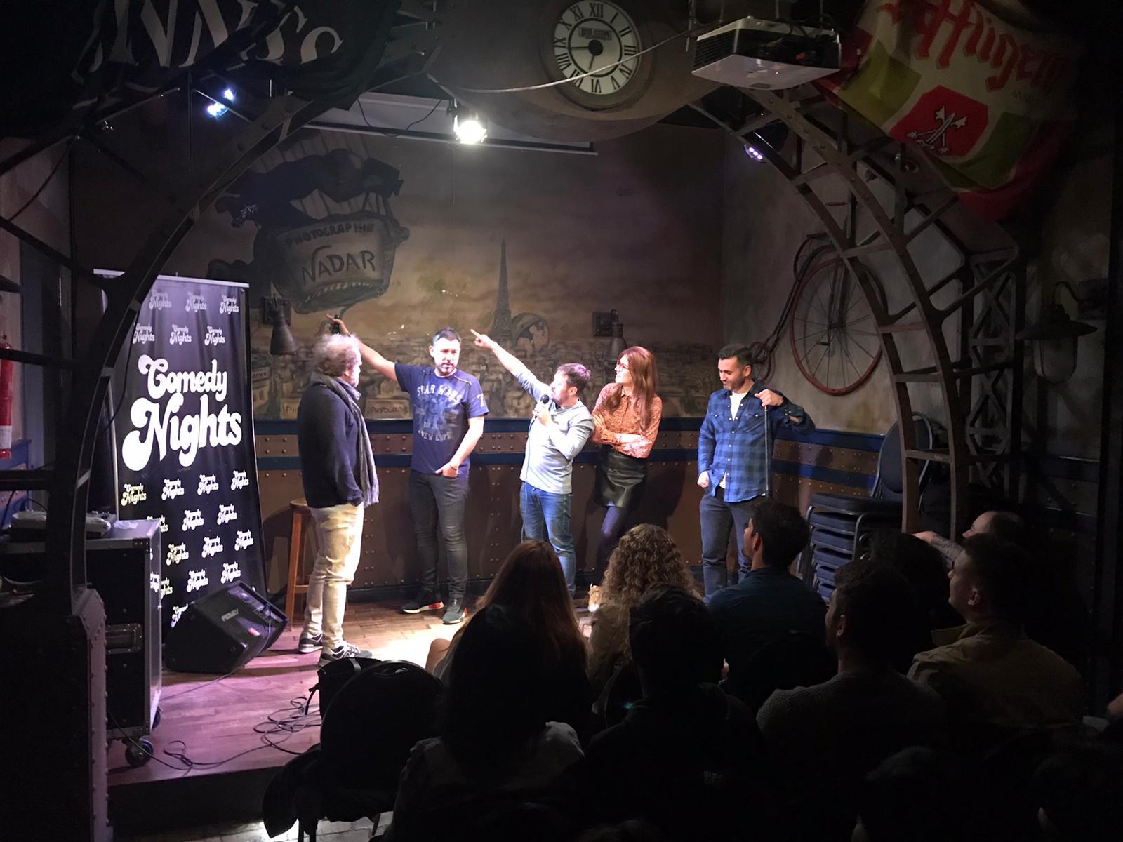 Juan Solo - Comikazes - Iñaki Urrutia y Don Mauro con Elsa Ruiz, Karim y Richard Salamanca en Beer Station - Monólogos en Madrid
