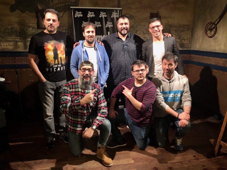 Comikazes - Juan Solo - Richard Salamanca - Nicolás Biffi - Sergio Maravilla Martínez - Chuly Paniagua - Tappy - Iñaki Urrutia - Beer Station