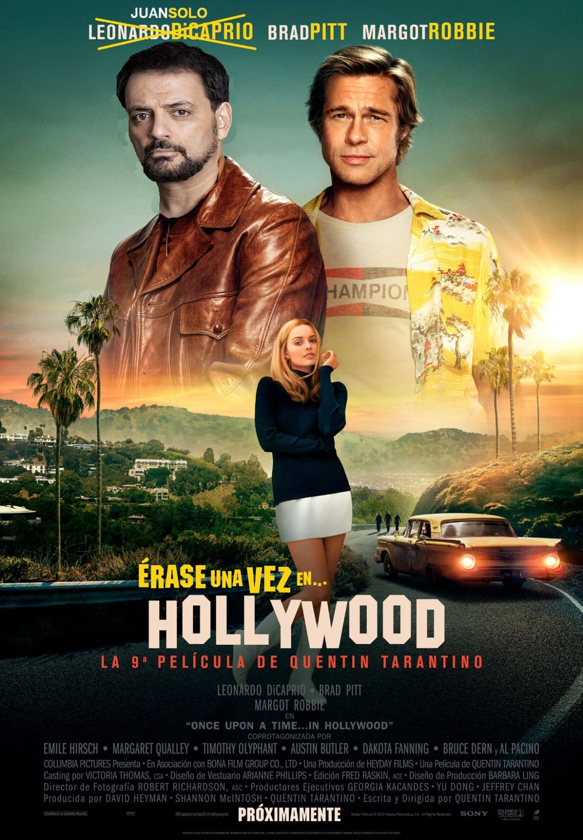 Cómo conseguir tu foto con el cartel de Hollywood - Juan Solo - Hollywood - Érase una vez en Hollywood - Hollywood Hills - Observatorio Griffith - Blog de Juan Solo