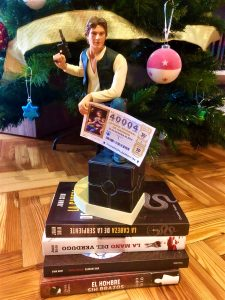 Este año si me toca la Lotería de Navidad - Juan Solo - Han Solo y Star Wars en Navidad - Star Wars - Comikazes - Sorteo de Navidad - Anuncio de Lotería de Navidad - Don mauro - Iñaki Urrutia - Alfredo Díaz