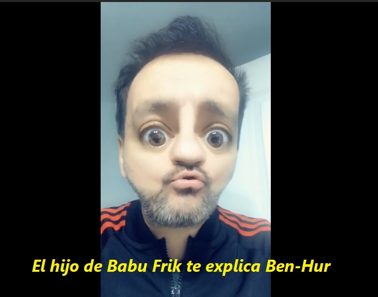 El hijo de Babu Frik te explica Ben-Hur - El crítico de cine youtuber e influencer del momento - Juan Solo