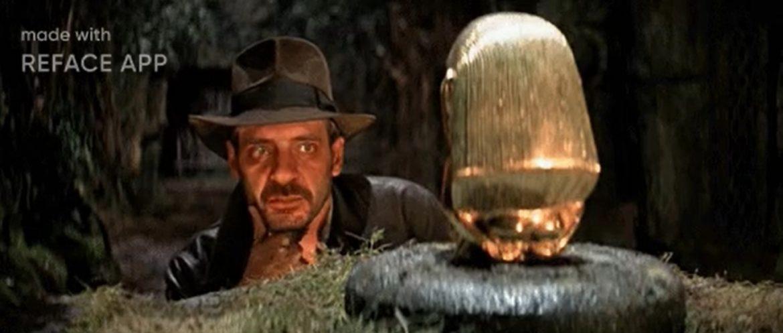 Juan Solo interpretando a Indiana Jones en lugar de Harrison Ford - Juan Solo actor