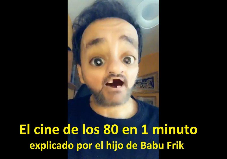El cine de los 80 en 1 minuto - El hijo de Babu Frik te explica el cine occhentero - El cine en 1 minuto - Babu Frik - Juan Solo
